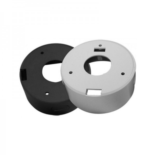 """BVCD506B Junction Box for Turret Domes 4.75"""" - Grey"""