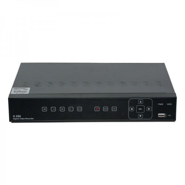 4 Channel Hybrid (960H & AHD 2.0) 1080p DVR, H.264 dual-stream, VGA and HDMI Full HD output