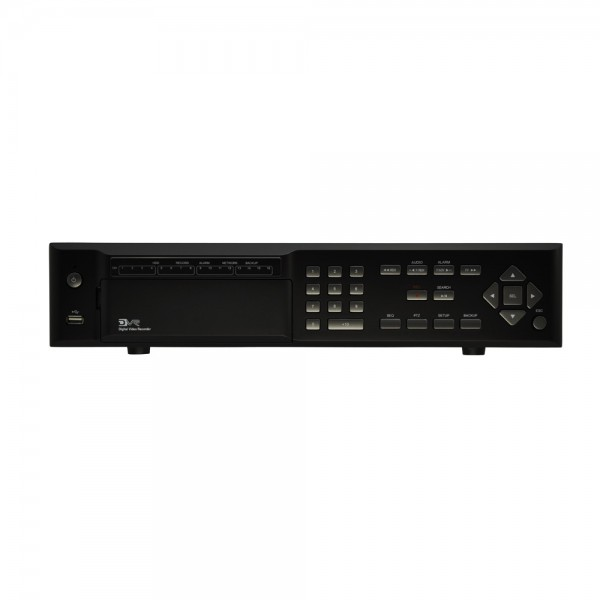 16CH HD-SDI 1080P High Resolution 30F Real Time Recording DVR (Hard Drive Not Included)