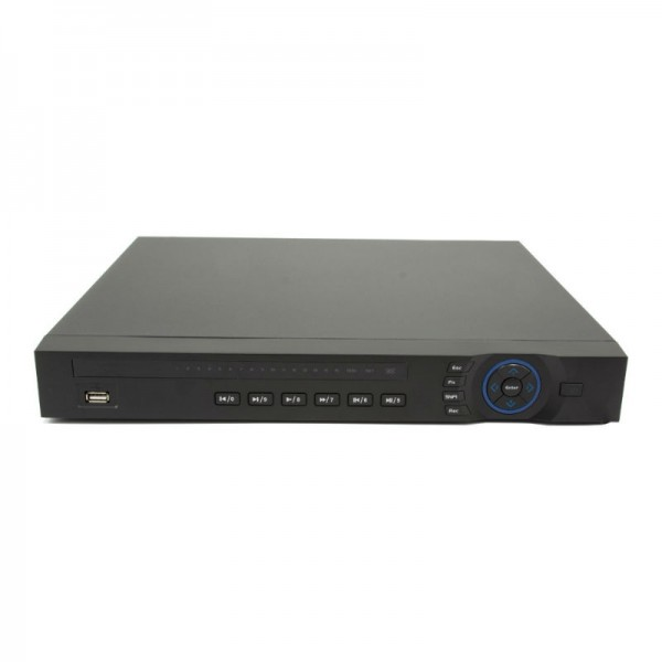 8 CH 4K NVR 1080p HD Resolution, H.265/H.264, 192 Mbps, 2 HDD Bays, Built-in 8 PoE Ports