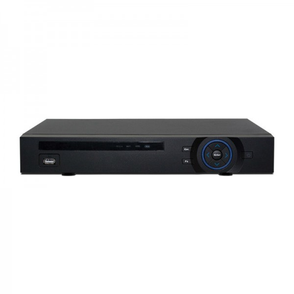 4 CH NVR 1080p HD Resolution, 80 Mbps, Supports 5MP Resolution, 2 HDD Bays, Built-in 4 PoE
