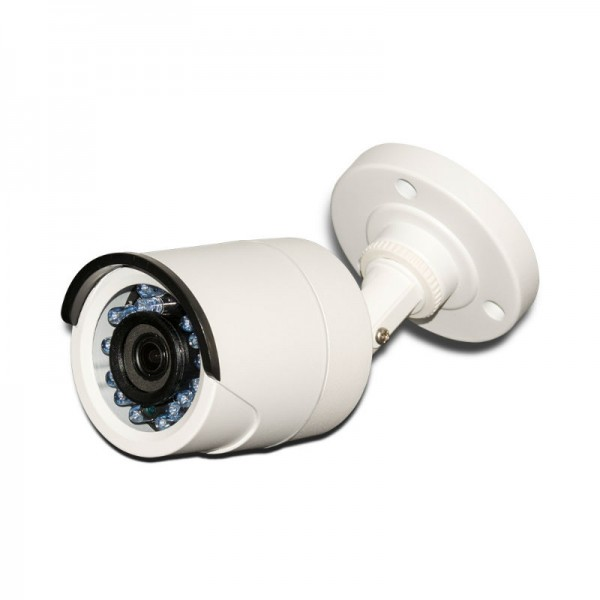 HD TVI Bullet 1080p 3.6mm Lens Smart IR Weatherproof. UL Listed