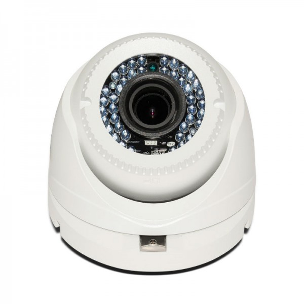 HD TVI Dome1080p 2.8-12mm Motorized Vari-focal lens, Smart IR (130ft) UL Listed