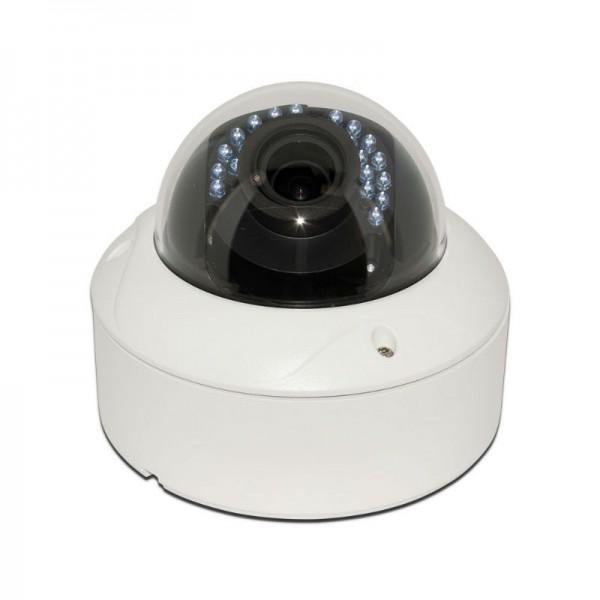 HD TVI Dome 1080P 2.8-12mm Motorized Vari-focal, Smart IR (120ft), Weatherproof, 1k10 UL Listed