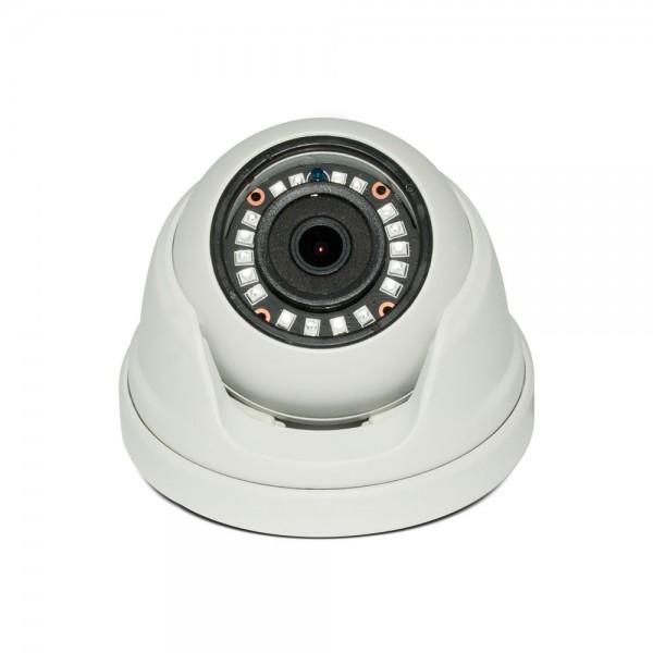HD 4-in-1 (CVI, TVI, AHD, Analog) Turret  Dome 1080P 2.8mm Fixed Lens 24IR Weatherproof