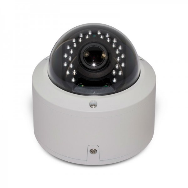 HD 4-in-1 (CVI, TVI, AHD, Analog) Vandal-Proof  Dome 1080P 2.8-12mm Vari Focal Lens, 30 IR LEDs