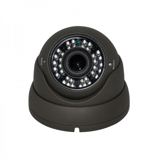 AHD Turret Dome 1080P 2.8-12mm Vari-focal Lens 36 IR Weatherproof