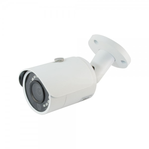 4MP H.264+ & H.264 Full HD Network IR Bullet Camera. 3.6mm Fixed Lens, IR(100ft), IP 67, PoE