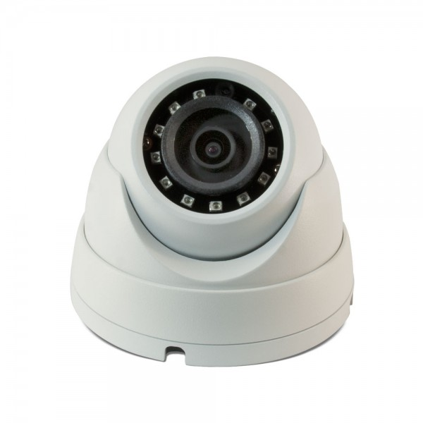 4MP H.264+ & H.264 Full HD Network IR Eyeball Dome Camera. 2.8mm Fixed Lens, IR(100ft), IP67, PoE