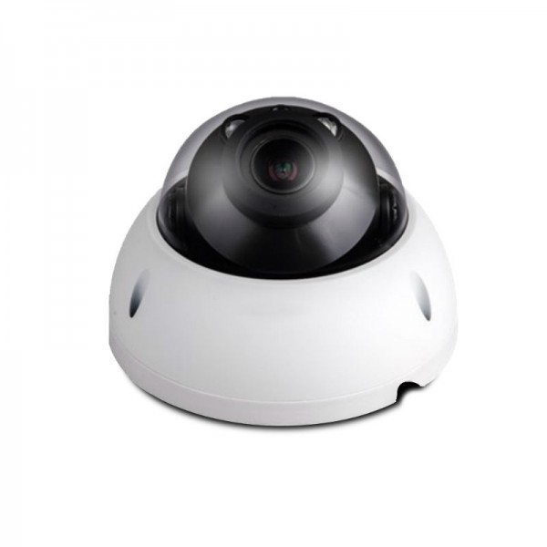 3MP Full HD Network IR Dome Camera. 2.7-12mm Motorized Lens, IR(98ft), IP66, 1k10, PoE