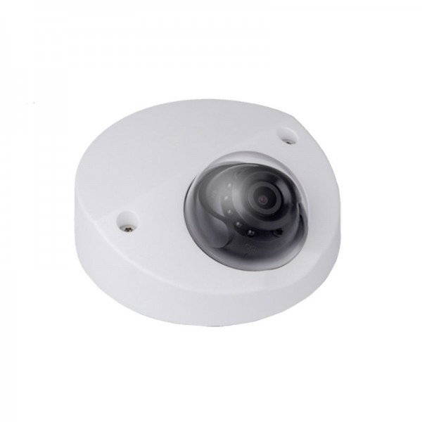 4MP Full HD Network IR Wedge Dome Camera. 3.6mm Fixed Lens, IR(100ft), True WDR, IP67, IK10, PoE