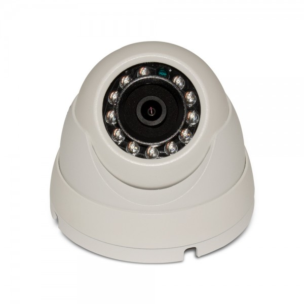 4MP Network IP Full HD IR Dome Camera, 3.6mm Fixed Lens, IR(100ft), IP66, PoE