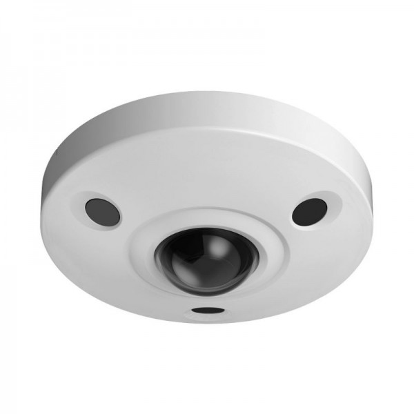 Ultra HD 12 Megapixel Network 4K Fisheye Camera, IR, PoE, IP67 Weatherproof, 1K10 Vandal-proof