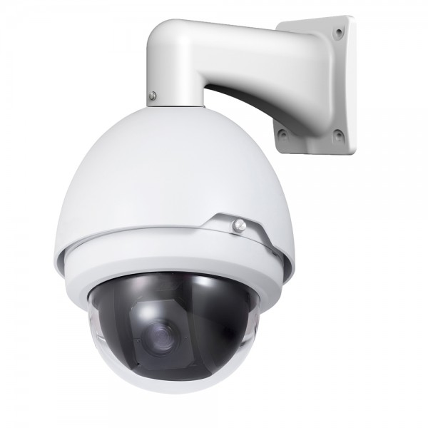 2MP Full HD Network PTZ Dome Camera. 30x Zoom, Weatherproof
