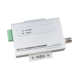 A2810 BNC to RJ45 Video Converter 3000FT Tranceiver Extender