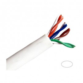 CB5E1KWU CAT5e Network cables 1000' Pull Box - White