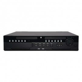 64 Channel Super 4K Enterprise Network Video Recorder. 384 Mbps, Supports Up to 12Mp resolution, 8 HDD Bays (Single, RAID, Hot-swap)