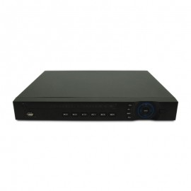 16 CH NVR 1080p HD Resolution, 160 Mbps, Supports 5MP Resolution, 4 HDD Bays, Built-in 16 PoE