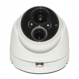 HD TVI Dome 1080P 2.8-12mm Vari-focal, Smart IR EXIR technology (165ft), True Wide Dynamic Range, Weatherproof UL Listed