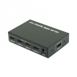 VAC109 HDMI Splitter with IR Extension 4 Way (1-in/4-out) Splitter 3D