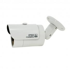 3MP Full HD Network IR Bullet Camera. 3.6mm Fixed Lens, IR(65ft), IP66, PoE
