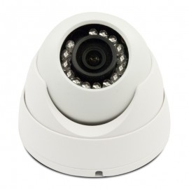 3MP Full HD Network IR Dome Camera. 3.6mm Fixed Lens, IR(100ft), IP66, PoE