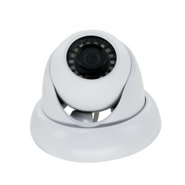 2MP Full HD Network IR Dome Camera. 3.6mm Fixed Lens, IR(65ft), IP66, PoE