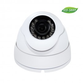 3MP Full HD Network IR Dome Camera. 3.6mm Fixed Lens, IR(65ft), IP66, PoE