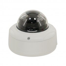3MP Full HD Network IR Dome Camera. 2.8-12mm Vari-focal, IR(65ft), IP66, IK10, PoE