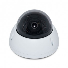 3MP Full HD Network Mini IR Dome Camera. 2.8mm Fixed Lens,  IR(100ft), IP66, IK10, PoE