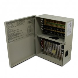 18 CH 20Amp DC12V Power Supply Box. PTC UL Listed