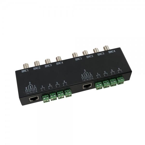 A2808 8x BNC to 2x RJ45 Video Converter (Metal)