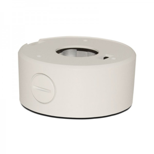 "BVCD504W Junction Box for Turret Domes 3.75"" - White"