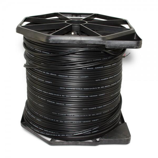 CB1000SB 1000FT Bulk Siamese Cable ETL & UL Listed