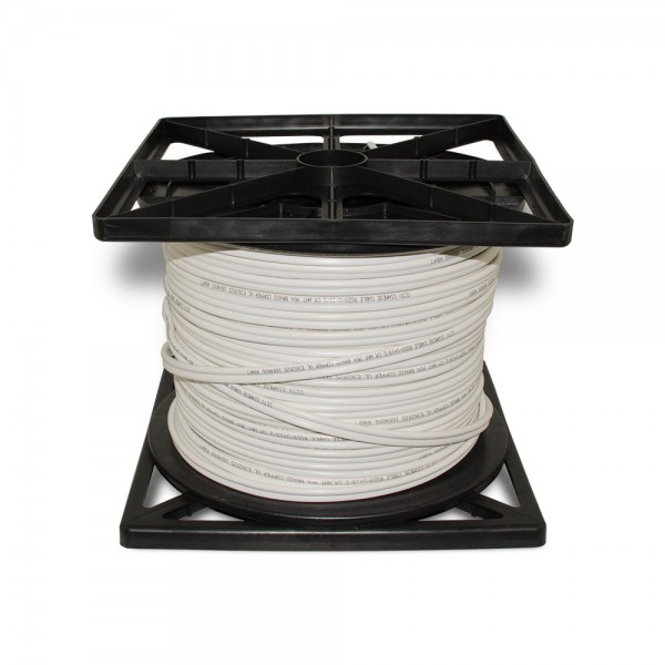 CB500W 500FT Bare Copper Siamese Cable ETL & UL Listed