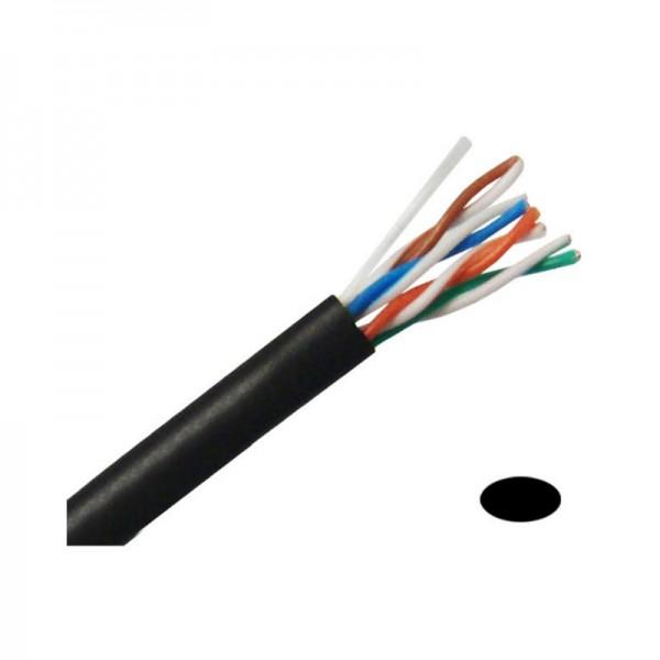 CB5E1KBKU CAT5e Network cables 1000' Pull Box - Black