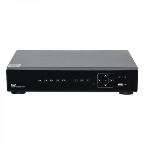 16 Channel Hybrid (960H & AHD 2.0) 1080p DVR, H.264 dual-stream, VGA and HDMI Full HD output.