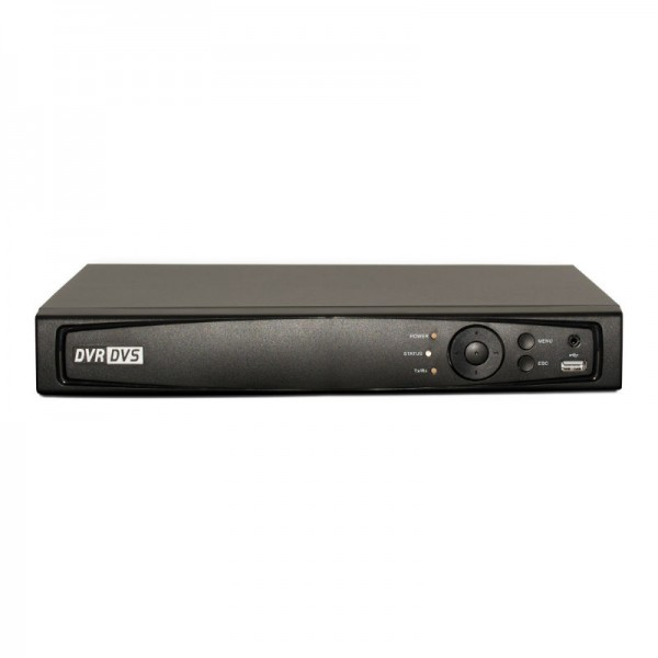 4CH 1080p 1U Tribrid  (TVI / IP / Analog) Real Time Display DVR, UL Listed