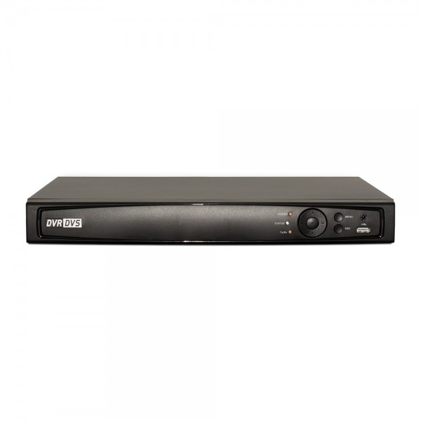 16CH 1080p 1U Turbo HD DVR (TVI / AHD /Analog / IP) Real Time Display, UL Listed