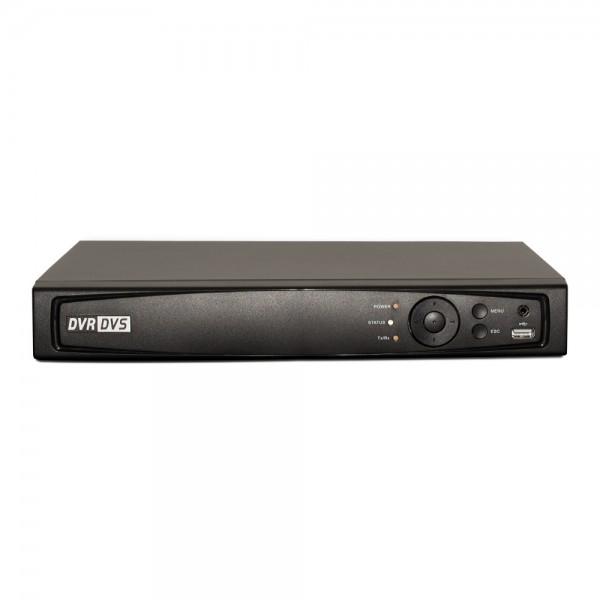 4CH 1080p 1U Turbo HD DVR (TVI / AHD /Analog / IP) Real Time Display, UL Listed