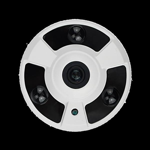 HD-TVI Dome: SONY 5.0MP Cameras w/5.0MP HD-Lens, 3pcs. Large IR LED's, BLC, DWDR, OSD (CoC) - White