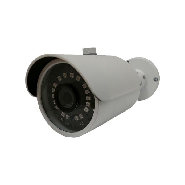 HD-TVI Bullet: 4-in-1 (CVI, TVI, AHD, Analog) Bullet 1080P 2.8mm Fixed Lens 18 IR Weatherproof - White