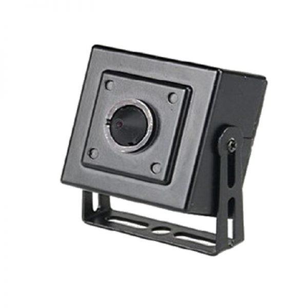 HD-TVI Specicalty: 4-in-1(CVI, TVI, AHD, Analog) 1080p Pin Hole Camera, 3.7mm Fixed Lens - Black