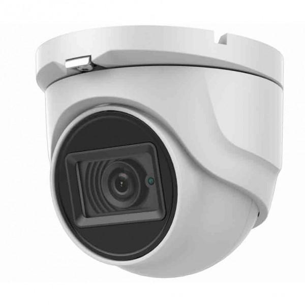 HD-TVI Dome 4K: 4-in-1(CVI/TVI(8MP), AHD(5MP), Analog) Dome 4K 2.8mm Fixed Lens IR LED's Weatherproof - White
