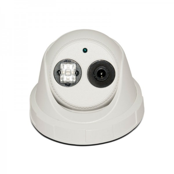 HD TVI Dome 1080P 3.6mm Fixed Lens, Smart IR EXIR technology (130ft), Weatherproof UL Listed