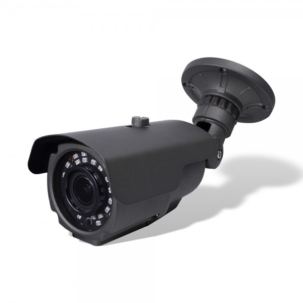 HD 4-in-1 (CVI, TVI, AHD, Analog) Bullet 4MP 2.8-12mm Vari-Focal Lens 30 New IR LEDs Weatherproof