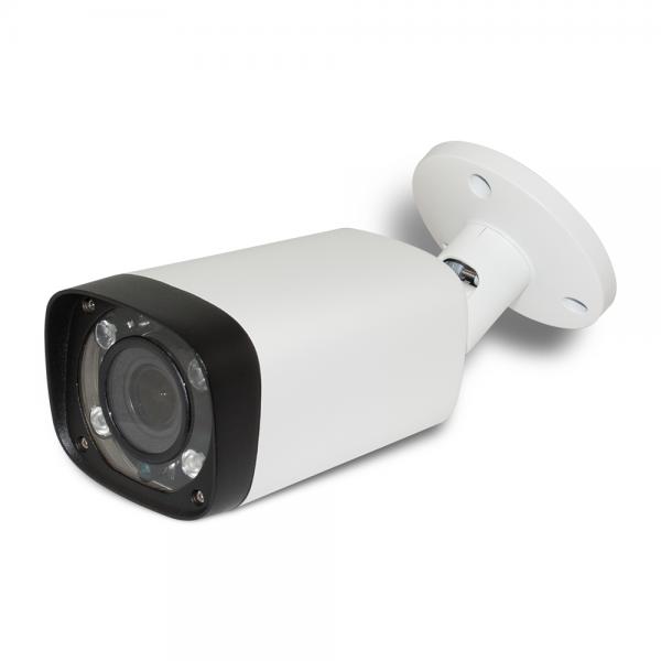 HD CVI Bullet 1080p 2.8-12mm Motorized Vari-focal lens, Long Range Smart IR (200ft) Weatherproof