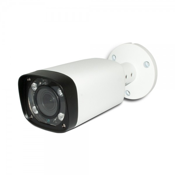 HD-CVI Bullet: 4MP 2.7-12mm Motorized Lens Max 4MP Real-time,Long Distance Smart IR (200ft), WDR, Weatherproof