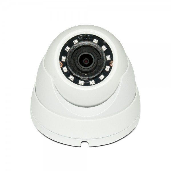 HD CVI Dome 4MP 2.8mm Fixed Lens Max 4MP Real-time Smart IR (100ft), WDR, Weatherproof