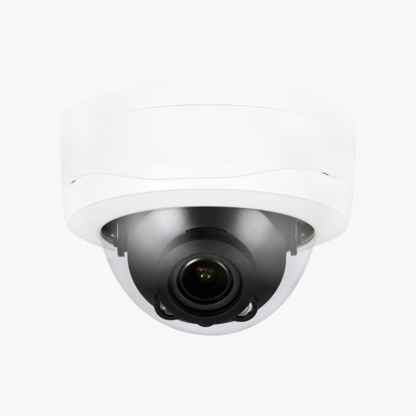 IP Dome: 4MP Network IP LXIR Bullet Camera, 3.6mm Fixed Lens, IR(263ft), IP67, PoE